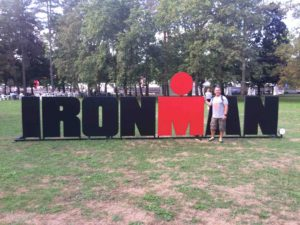First triathlon Ironman