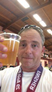 first triathlon beer