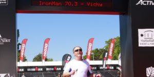 First Triathlon finish